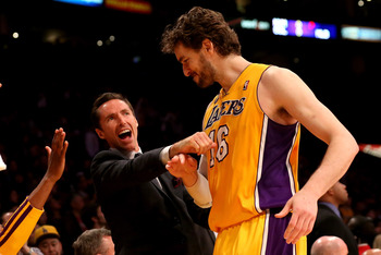Unfamiliar territory for Steve Nash: the sidelines