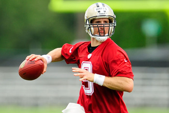 Drew Brees signed a long-term deal in the eleventh hour last year.
