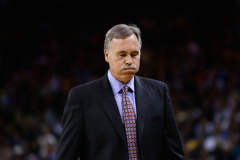 An exasperated Mike D'Antoni