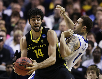 Power forward Arsalan Kazemi is the first Iranian-born player to be drafted in the NBA.