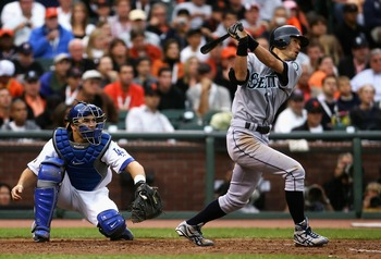 Ichiro delivers the first inside-the-park HR in ASG history.