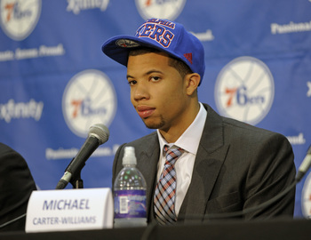 Michael Carter-Williams looks young, but his game needs to grow even more.