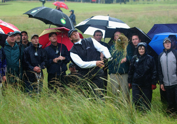 Weather played a key role the last time the Open Championship was played at Muirfield.