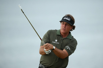 Phil Mickelson has shown nice form on the links during this week's Scottish Open.
