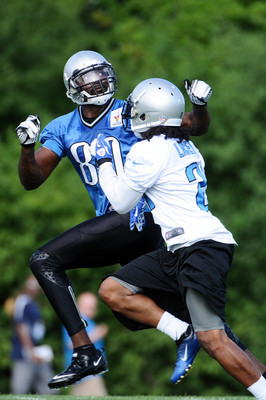 Last season Jacob Lacey got the opportunity to practice against Calvin Johnson as a member of the Detroit Lions.