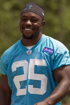 Barner was the Panthers' last pick of the draft.