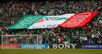 Over 20,000 fans attended the CenturyLink Field in Seattle for the Mexico versus Canada match.