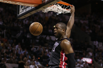 Few players Dwyane Wade's size have ever soared as high.