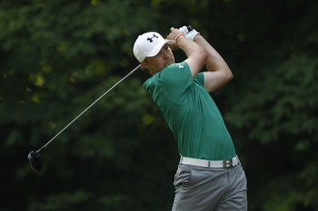 Jordan Spieth is a player to watch at Muirfield this week.