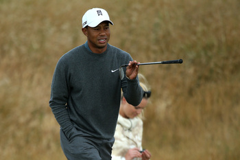 If Tiger Woods is indeed healthy, he will win the 2013 Open Championship.