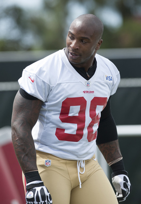 Veteran linebacker Parys Haralson wants playing time.