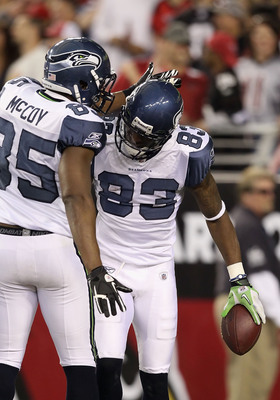 "Ricardo Lockette (right) could be a receiving ""wild card."""