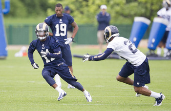 The Rams traded up in the draft to ensure a shot at Tavon Austin