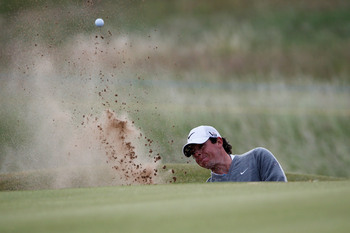 Here's a picture Rory McIlroy doesn't want to see too much this week.