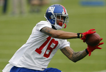 WR Louis Murphy wants to snag a role in the Giants offense.