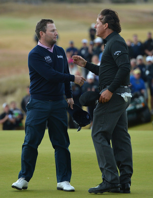 Branden Grace finished second to Phil Mickelson at the 2013 Scottish Open.