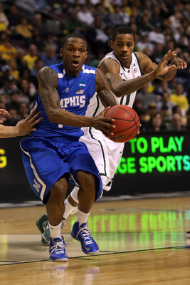 If the basketball gods are on their game in November, they'll give us Memphis point guard Joe Jackson (pictured) against Oklahoma State's Marcus Smart in the championship of the Old Spice Classic.
