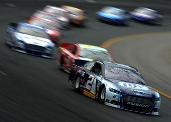 Brad Keselowski only needs to hold serve through Richmond to make the Chase.