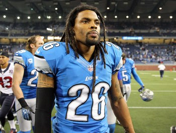 The Lions hope that Delmas can stay healthy this season.