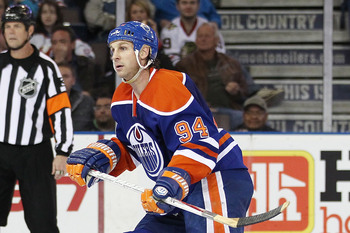 Ryan Smyth is a shadow of his former self.