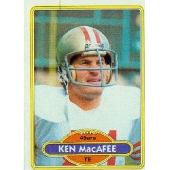 Ken MacAfee was a first-round bust.
