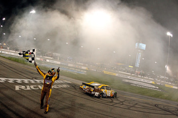 Kyle Busch is a four-time winner under the lights of Richmond.
