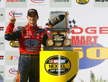 Jeff Gordon's last Sonoma win came in 2006.