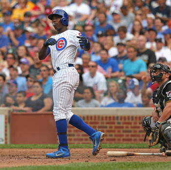 Expect Alfonso Soriano's power numbers to increase dramatically in the second half of this season.