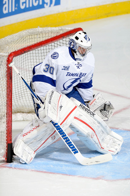 The Lightning have a bit of a logjam in goal, but that doesn't mean they have an answer.