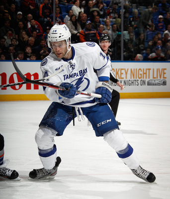 Brett Connolly will be one of many players fighting for a full-time gig with the Lightning.