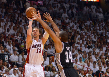 After a season of sitting, Mike Miller stepped up against the Spurs in the NBA Finals.