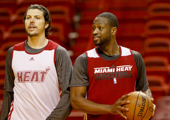 Without Mike Miller available, Dwyane Wade might feel more pressure to push it.