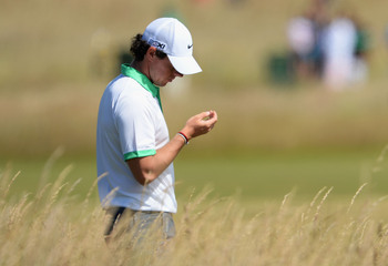 Rory McIlroy shot a head-scratching 79 on Thursday at Muirfield.