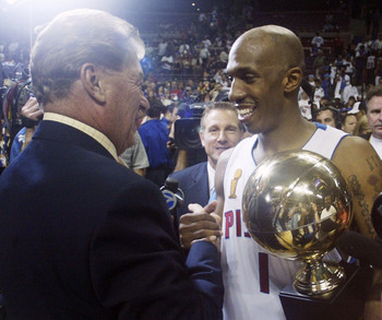 Billups helped the Pistons win an NBA title in 2004.