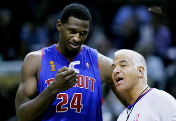Antonio McDyess was sixth man for the 2005 Pistons team that made the NBA Finals.