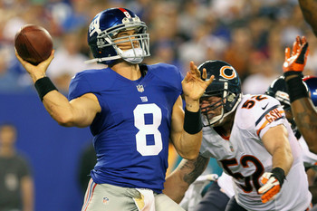 David Carr's roster spot is in jeopardy due to the presence of rookie Ryan Nassib.