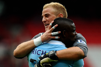 Micah Richards and Joe Hart—both came to City as teenagers.