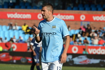 Kolarov keeps getting noticed for regrettable reasons.