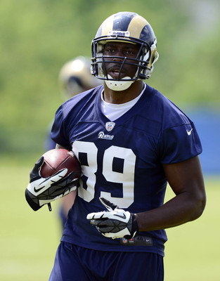 Jared Cook at Rams OTAs