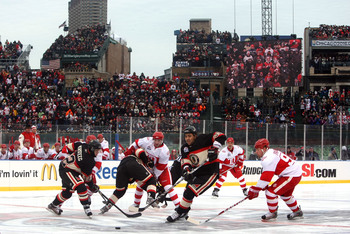 The Blackhawks will take on the Pittsburgh Penguins as a part of the NHL Stadium Series.