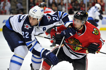 The Winnipeg Jets will be the team the Blackhawks have seen the least.
