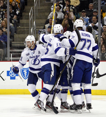 The Lightning move to a new division with playoff berths coming at a premium.
