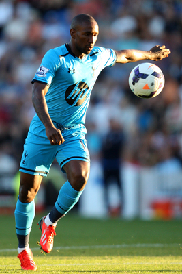 Jermain Defoe in action against Colchester.