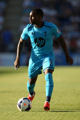 Danny Rose on the ball versus Colchester.