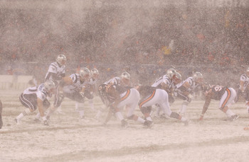 What weather will we see at Solider Field in Chicago?