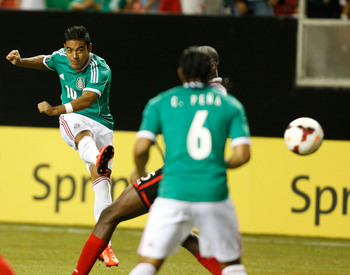 Marco Fabian has scored three times in the 2013 Gold Cup.