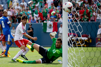Rafael Marquez Lugo has yet to score in the tournament.