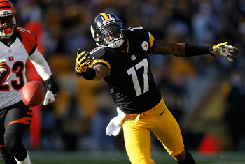 The Steelers lost their best receiver and will have to try to make up for it in other ways.