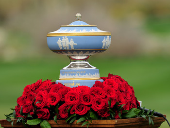 Walter Hagen, another of the game's greatest to be immortalized with a trophy in his name.