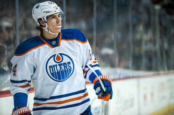 Yakupov could turn out to be the best scorer of all the young Oilers as he continues to develop.